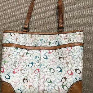 Coach Women's Multi Color Hand bag